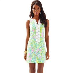 Lily Pulitzer Cathy Shift Dress in Coconut Jungle